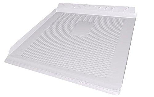 Abtropfschublade Kühl- / Gefrierschrank 60 cm Weiss, Auffangwanne unter Kühlschrank/Gefrierschrank Rückseitige (973977006694)