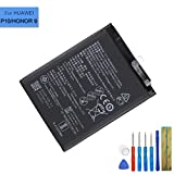 E-yiviil - Batería de repuesto HB386280ECW compatible con Huawei P10 Honor 9 VTR-L09 VTR-L29 con herramientas