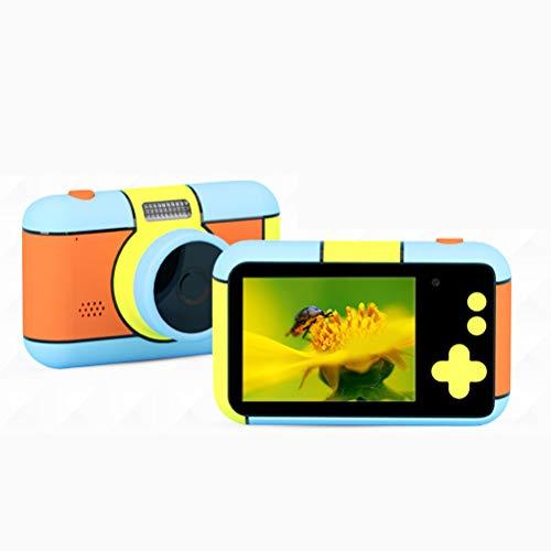 Mankoo Cámara para Niños, 1080P HD Mini Cámara para Niños Cámara para Niños Cámara De Fotos Digital Selfie, Cámara Digital De 2.4 Pulgadas, Regalo De Cumpleaños para Niños
