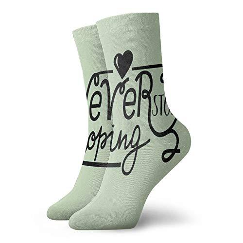 Calcetines de compresión para mujeres y hombres que nunca dejan de esperar cita con corazón los mejores calcetines para circulación, médicos, correr