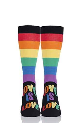 Sock Shop Damen Harry Potter Hausabzeichen Baumwoll-Kniestr/ümpfe Packung mit 4