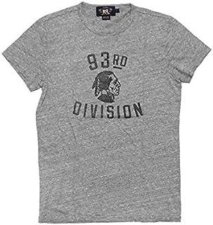(ダブルアールエル)RRL ラルフローレン メンズ ダブルアールエル インディアンプリントTシャツ 杢グレー S [並行輸入品]