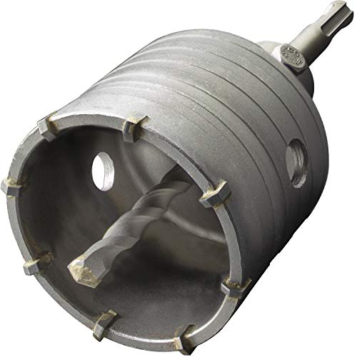 GRAFF® Hohl-Bohrkrone 68mm, Set mit SDS Plus Adapter 110mm und Zentrierbohrer 8x110mm, Steckdosenbohrer für Mauerwerk und Beton, Hammerschlagfest, Dosenbohrer, Bohrkrone für Bohrhammer