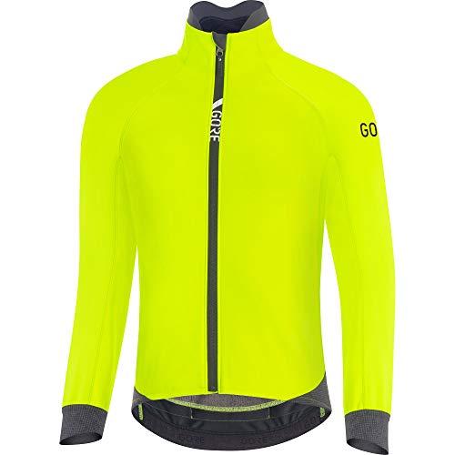 GORE WEAR Herren Thermo Fahrrad-Jacke, C5, GORE-TEX INFINIUM, L, Neon-Gelb