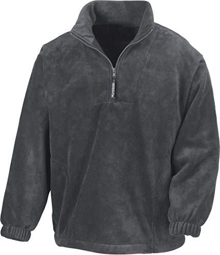 Result Fleecepullover Active mit Seitentaschen XXL,Oxford Grey