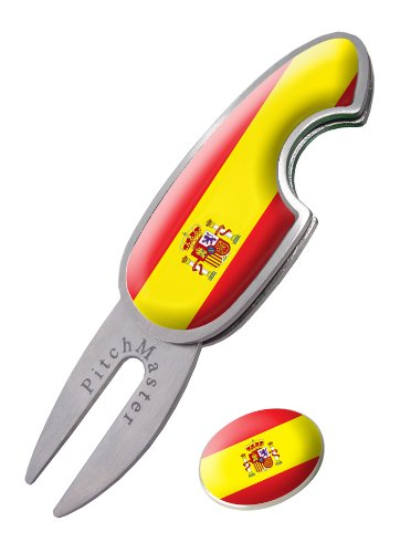 Asbri Golf Pitchmaster - Arreglapiques de Golf, Color Spain