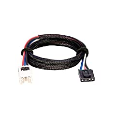 Vehicle specific brake control wiring harness For brake controls with wiring port built into back of unit Plug the brake control end of wiring harness into back of brake control and vehicle end into vehicle's port Brake controls with 2-plug style of ...