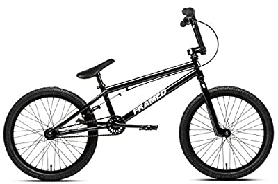 Framed Verdict BMX Bike Mens Black/White Sz 20in
