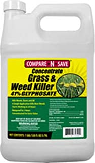 Compare-N-Save Concentrate Grass and Weed Killer, 41-Percent Glyphosate, 1-Gallon , white - 016869