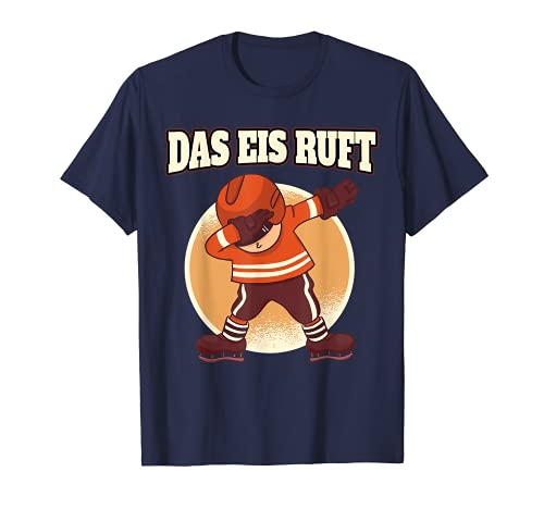 Eishockey lustiger Spruch - das Eis ruft T-Shirt