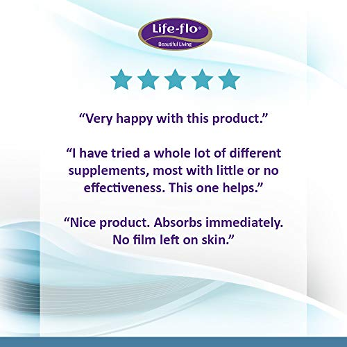 Life-flo Pregnenolone Cream | Physician-Developed Precursor for Optimal Balance | Includes Vitamin E, MSM, & Grapeseed Extract | Unscented | 2oz