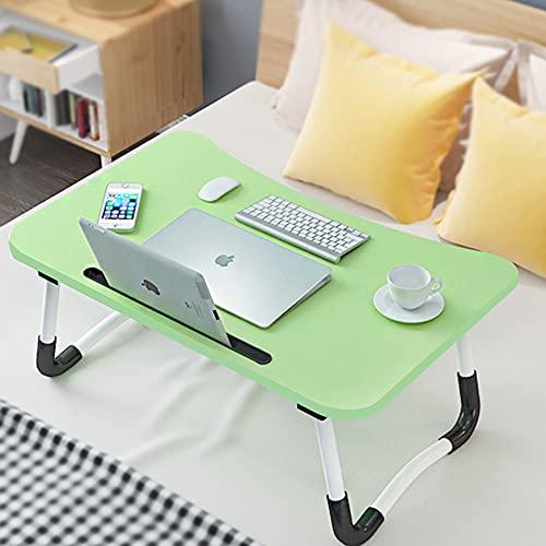 Verstellbarer Laptop-Bett-Tisch für Bett und Sofa, Frühstückstablett, Laptop-Tablett, faltbares Frühstückstablett, Notebookständer, Lesehalter für Couch Boden Kinder (60 x 40 cm)