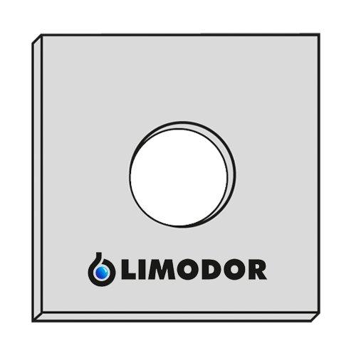 LIMODOR 5X Original - Filter - Filtereinsatz F LF ELF - Limot Lüfter 226x226mm mit 95mm Loch- Ersatzfilter - Art.-Nr.: 00010