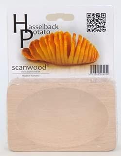Scanwood Beechwood Swedish Hasselback Potato Cutting Board by Scanwood