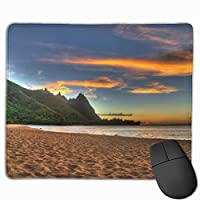 """Sunset Beaches Mouse Pad Non-Slip Rubber Gaming Mouse Pad Rectangle Mouse Pads for Computers Desktops Laptop 9.8"""" x 11.8"""""""