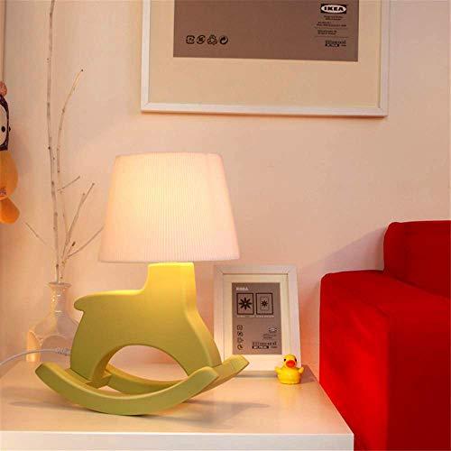 LIUJIE kinderen bureaulamp/omvallen Fun creatief Trojaans paard/Home Office ruimtebescherming ogen computerlederen leeslamp, groen