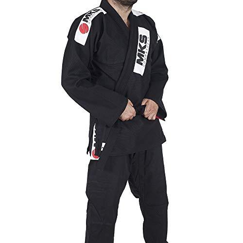 Kimono Jiu Jitsu, Tamanho A1, MKS, Preto
