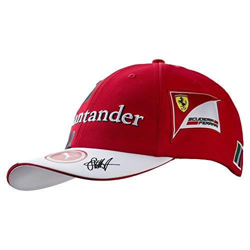 FERRARI F1 Herren Ferrari Vettel Baseball Cap 2017, Red, One Size