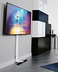 Great alternative to wall mounting Freestanding or can be fixed to the wall for extra piece of mind Cable management Up to 80 inch Screens maximum TV Weight: Up to 60KG VESA: 75X75 - 600X400 W600 x D275 x H1460 mm