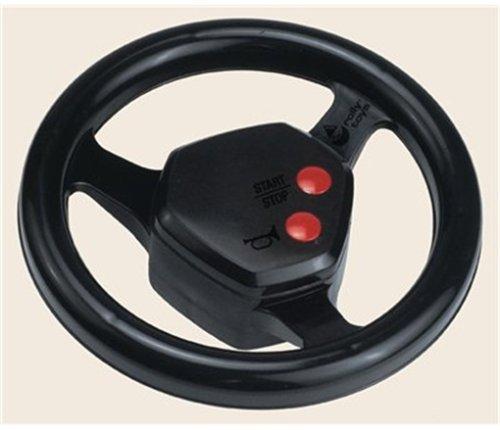rolly toys 409235 | rollySoundwheel inkl. zwei Sounds ( Hupen und Motorengeräusch) | einfach auf alle rolly toys Trettraktoren zu montieren