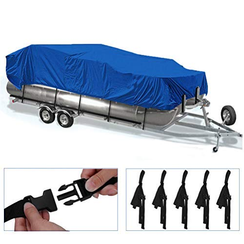 labworkauto 17 18 19 20 Ft Boat Cover Pontoon Heavy Duty Rain Snow Dust Resistant Protection