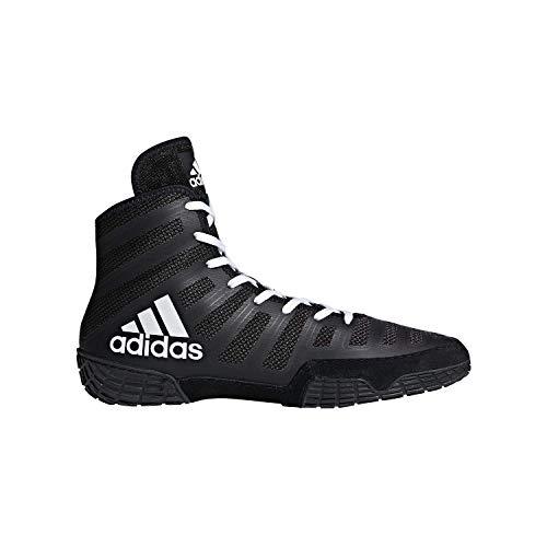 adidas Adizero Varner Black/White Wrestling Shoes 9.5