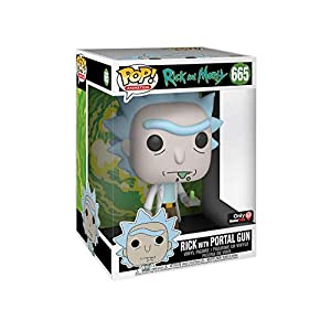 Funko Pop Rick con pistola de portales – 25cm (Rick & Morty 665) Funko Pop Rick & Morty