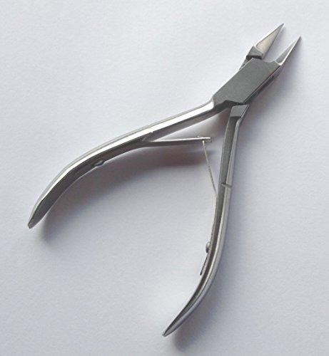Pathfinder Technologies® Coupe-ongles pour ongles incarnés pour soins des pieds ou pédicure, qualité professionnelle (atteint les endroits difficiles)