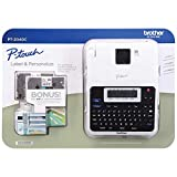 Brother P-Touch Label Maker PT-2040C with Additional Two Tapes (TZe-131, TZe-231)