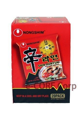 韓国 農心 辛ラーメン 107g×20袋
