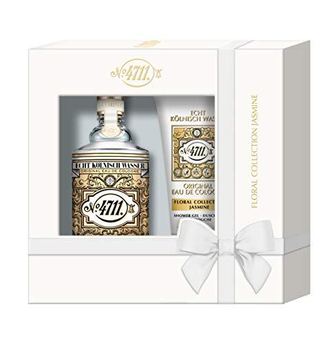 4711 Floral Collection Jasmine Coffret pour femme (Eau de Cologne 100ml + Gel douche 50ml)