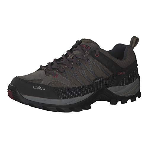 CMP Campagnolo Rigel WP Low-Cut Trekkingschuhe Herren schwarz/grau Schuhgröße EU 43 2021