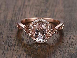 Best antique morganite ring Reviews