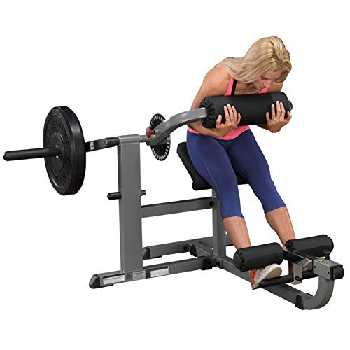 Body-Solid GCAB360 Cam Series Ab and Back Machine, Strengthen and Tone Abdominal and Back Muscles, Grey,