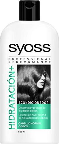 Syoss Acondicionador Hidratación+, 500 ml, Pack de 1
