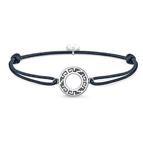 Thomas Sabo Damen Herren-Armband Little Secret Ornament 925 Sterling Silber LS059-907-5-L22v