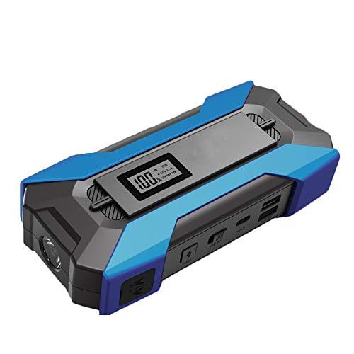 DOOK 12V Arrancador de Coche, 10000mAh Arrancador portátil para automóvil Arrancador 650A Corriente máxima con luz LED y 2 USB Salida QC3.0, para teléfono Inteligente
