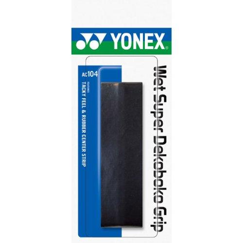 ヨネックス テニス グリップテープ ウェット スーパーグリップ凹凸タイプ AC104 ブラック 007)