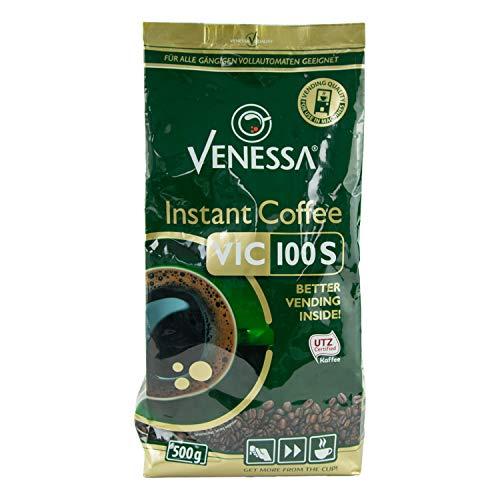 Venessa VIC 100S UTZ-zertifizierter Instant Kaffee 2er Pack, 2 x 500 g