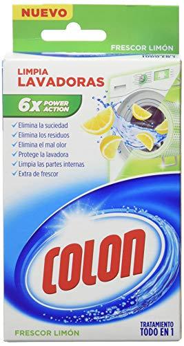 Colon Limpialavadoras Limón - 12 Paquetes de 250 ml - 3 L