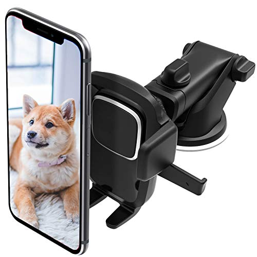 ORIbox Car Phone Mount, Dashboard Car Phone Holder, Washable Strong Sticky Gel Pad for iPhone, Samsung, and All Phones, Classic D