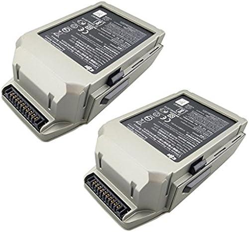 Fytoo 2PCS 11.4V 3830mAh Lipo Batterie für DJI Mavic pro Luftbild-Drohne RC Quadcopter Ersatzteile(Platin)