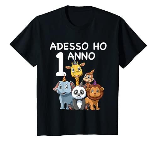 Bambino 1 Compleanno Bambini & Zoo - Regalo Di 1 Anno Maglietta