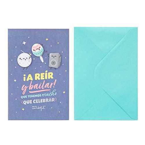 Mr. Wonderful WOA10455ES Postal Celebración - ¡A Reír y