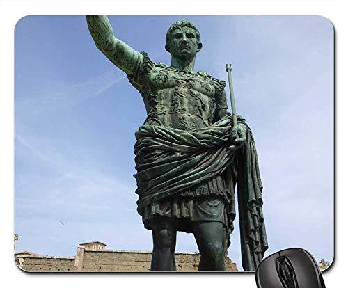 Mauspad - Julius Caesar Caesar Statue Italien Roma Rom