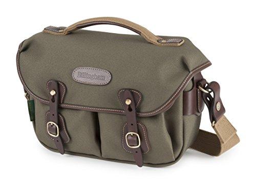 Billingham Small Pro–Tasche Rucksack FibreNyte (Schnellverschluss-System, Regenabweiser) grün und Toasten