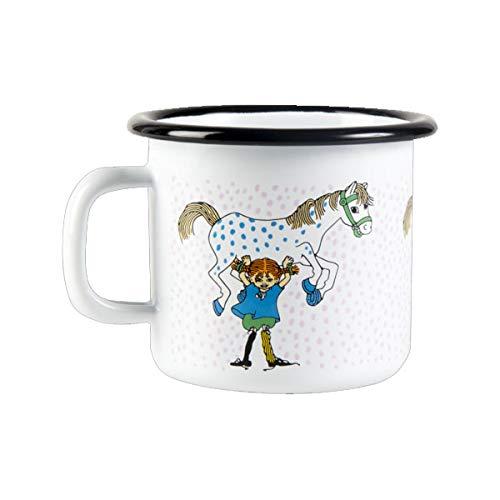 Muurla - Enamel Mug - Tasse/Becher/Henkelbecher - Emaille - PIPI Langstrumpf - 2,5dl / 250ml