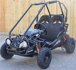Trailmaster Kids Go Kart XRX Mini Black - Off-Road Go-Karts