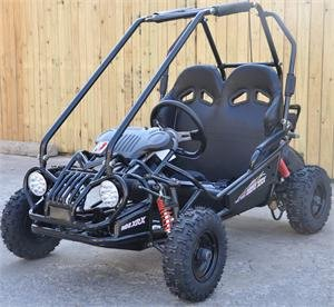 TRAILMASTER KIDS GO KART XRX MINI BLACK
