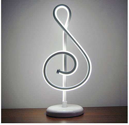Or Musique Note Chambre Led Lampe De Bureau Maison Salon Chevet Décoration Veilleuse Famille Cadeau 25 W